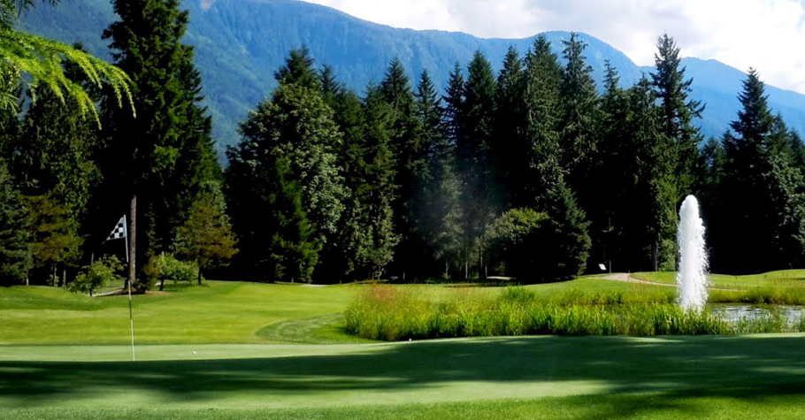 Cultus Lake Golf Club - Carved from the dense forest.